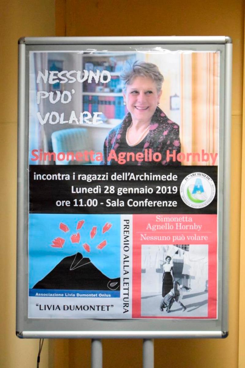 #INCONTRO CON LA SCRITTRICE S.AGNELLO HORNBY