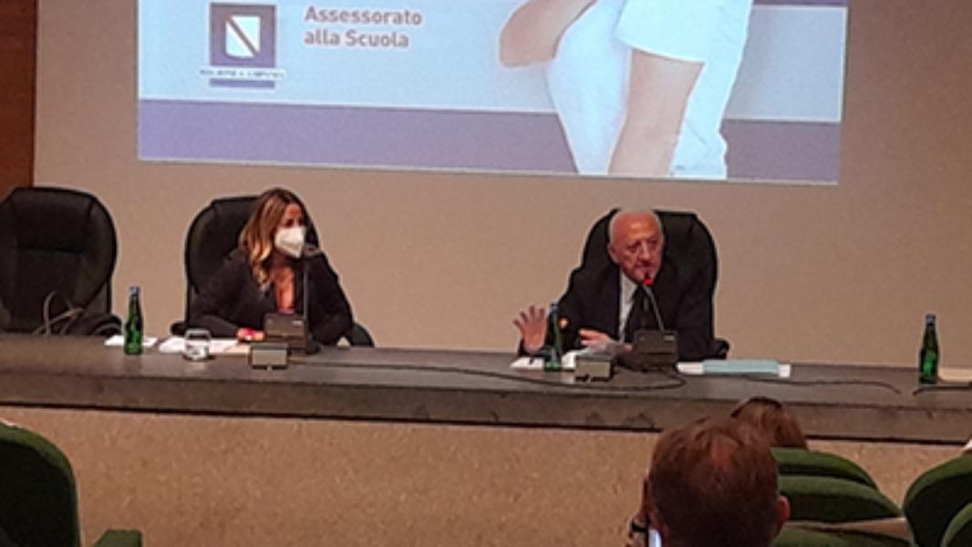 Conferenza di servizio Presidente della Regione Campania e i DD.SS