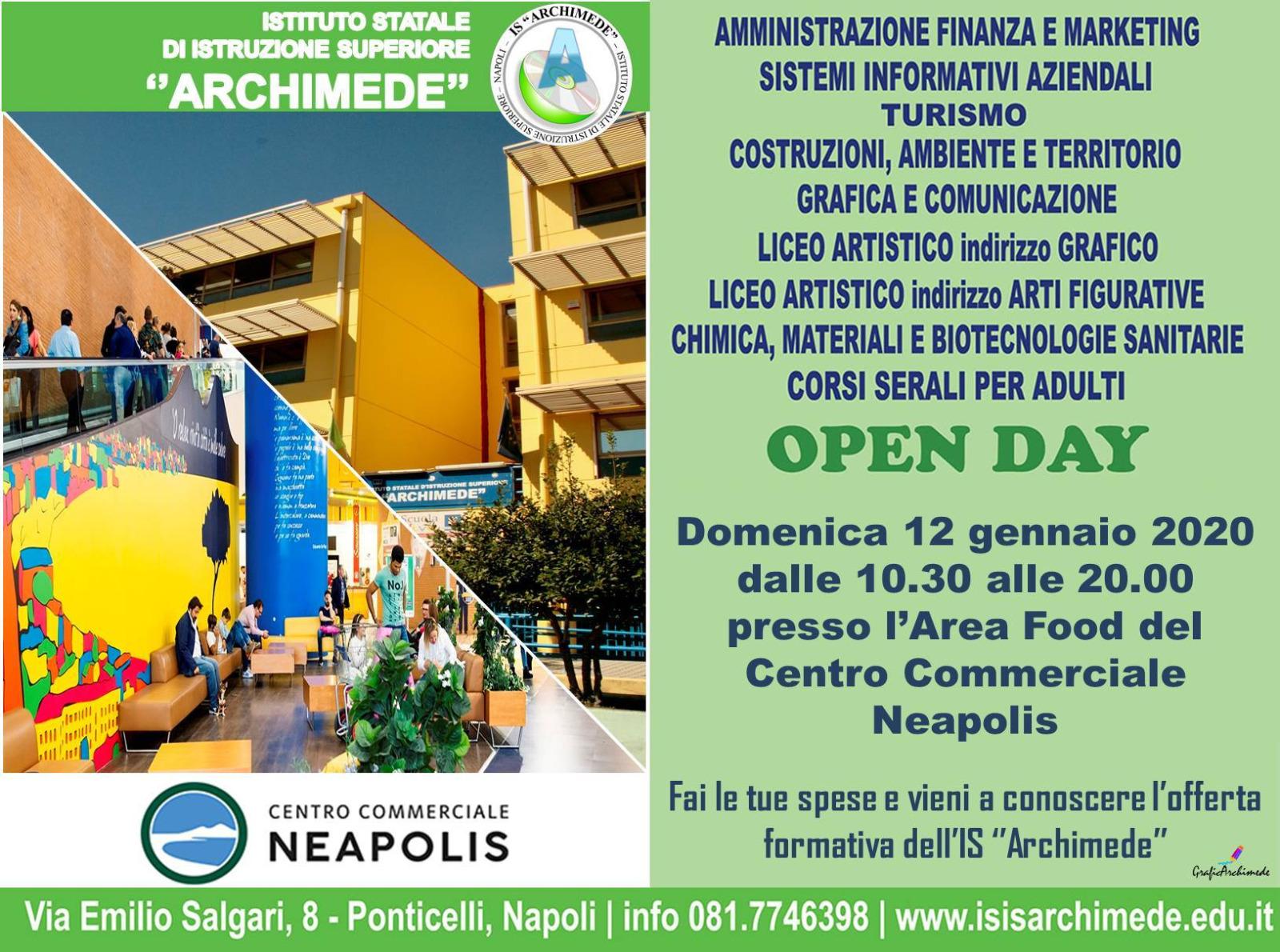 #OPENDAY 2020 C.C. NEAPOLIS